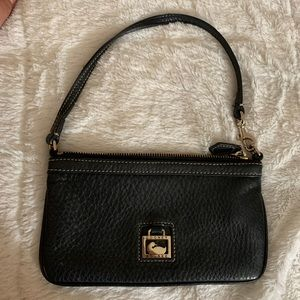 Dooney & Bourke Small Black Leather Purse